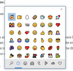 In-line emoji keyboard with spaghetti emoji highlighted.